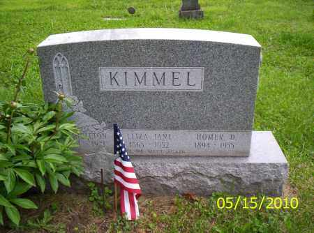 KIMMEL, SINGLETON - Shelby County, Ohio | SINGLETON KIMMEL - Ohio Gravestone Photos