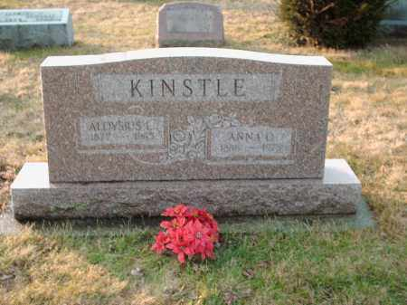 KINSTLE, ANNA - Shelby County, Ohio | ANNA KINSTLE - Ohio Gravestone Photos