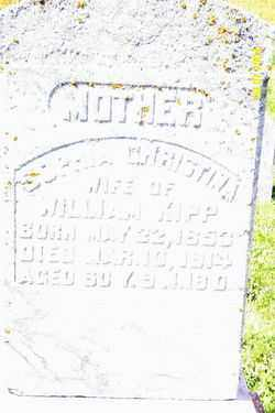KIPP, SOPHIA CHRISTINA - Shelby County, Ohio | SOPHIA CHRISTINA KIPP - Ohio Gravestone Photos