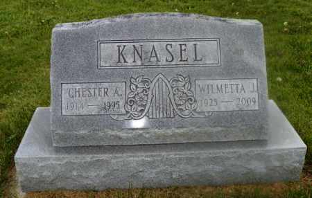 KNASEL, WILMETTA J. - Shelby County, Ohio | WILMETTA J. KNASEL - Ohio Gravestone Photos