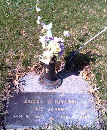 KNASEL, JAMES D. - Shelby County, Ohio | JAMES D. KNASEL - Ohio Gravestone Photos