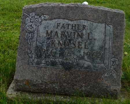 KNASEL, MARVIN L. - Shelby County, Ohio | MARVIN L. KNASEL - Ohio Gravestone Photos
