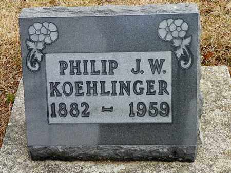 KOEHLINGER, PHILIP J. W. - Shelby County, Ohio | PHILIP J. W. KOEHLINGER - Ohio Gravestone Photos