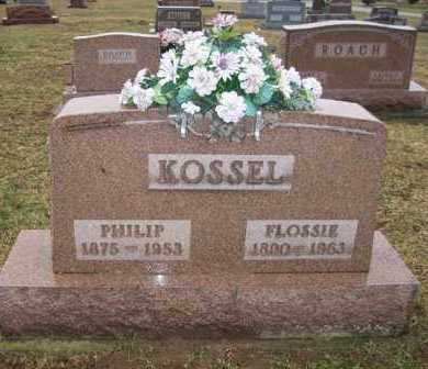 KOSSEL, FLOSSIE - Shelby County, Ohio | FLOSSIE KOSSEL - Ohio Gravestone Photos
