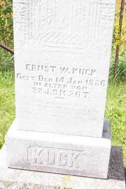 KUCK, ERNEST W. - Shelby County, Ohio | ERNEST W. KUCK - Ohio Gravestone Photos