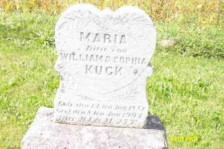 KUCK, MARIA - Shelby County, Ohio | MARIA KUCK - Ohio Gravestone Photos