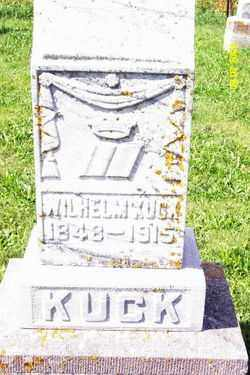 KUCK, WILHELM (WILLIAM) - Shelby County, Ohio | WILHELM (WILLIAM) KUCK - Ohio Gravestone Photos