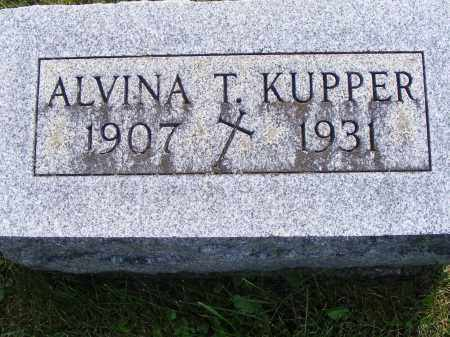 KUPPER, ALVINA - Shelby County, Ohio | ALVINA KUPPER - Ohio Gravestone Photos