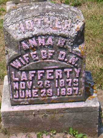 LAFFERTY, ANNA E. - Shelby County, Ohio | ANNA E. LAFFERTY - Ohio Gravestone Photos