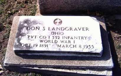 LANDGRAVER, DON S. - Shelby County, Ohio | DON S. LANDGRAVER - Ohio Gravestone Photos