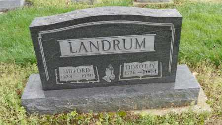 LANDRUM, MILFORD - Shelby County, Ohio | MILFORD LANDRUM - Ohio Gravestone Photos