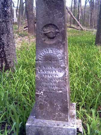 LAPHAM, THOMAS E.L. - Shelby County, Ohio   THOMAS E.L. LAPHAM - Ohio Gravestone Photos