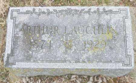 LAUGHLIN, ARTHUR - Shelby County, Ohio | ARTHUR LAUGHLIN - Ohio Gravestone Photos