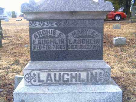 LAUGHLIN, ARCHIE ELVER - Shelby County, Ohio | ARCHIE ELVER LAUGHLIN - Ohio Gravestone Photos