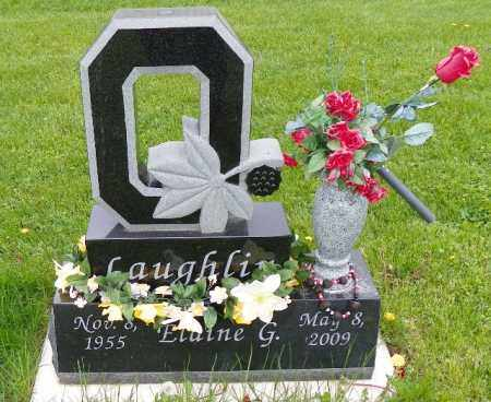 LAUGHLIN LAUGHLIN, ELAINE G. - Shelby County, Ohio | ELAINE G. LAUGHLIN LAUGHLIN - Ohio Gravestone Photos