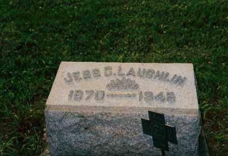 LAUGHLIN, JESS - Shelby County, Ohio | JESS LAUGHLIN - Ohio Gravestone Photos