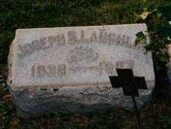 LAUGHLIN, JOSEPH S. - Shelby County, Ohio | JOSEPH S. LAUGHLIN - Ohio Gravestone Photos