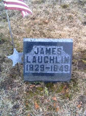 LAUGHLIN, JAMES - Shelby County, Ohio | JAMES LAUGHLIN - Ohio Gravestone Photos