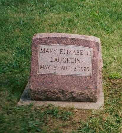 LAUGHLIN, MARY ELIZABETH - Shelby County, Ohio | MARY ELIZABETH LAUGHLIN - Ohio Gravestone Photos