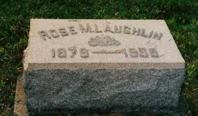 LAUGHLIN, ROSE M. - Shelby County, Ohio | ROSE M. LAUGHLIN - Ohio Gravestone Photos