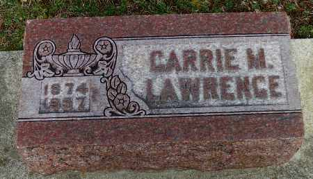 LAWRENCE, CARRIE M. - Shelby County, Ohio | CARRIE M. LAWRENCE - Ohio Gravestone Photos