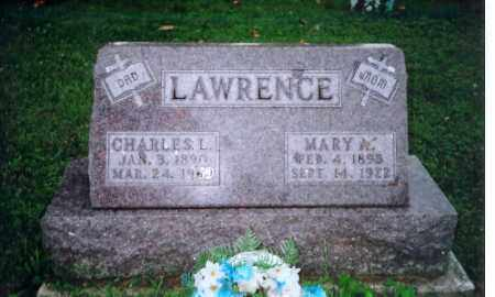 LAWRENCE, MARY - Shelby County, Ohio | MARY LAWRENCE - Ohio Gravestone Photos