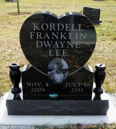 LEE, KORDELL FRANKLIN DWAYNE - Shelby County, Ohio | KORDELL FRANKLIN DWAYNE LEE - Ohio Gravestone Photos