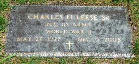 LEESE, CHARLES H. SR. - Shelby County, Ohio | CHARLES H. SR. LEESE - Ohio Gravestone Photos