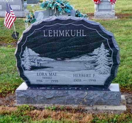 TRIMBLE LEHMKUHL, LORA MAE - Shelby County, Ohio | LORA MAE TRIMBLE LEHMKUHL - Ohio Gravestone Photos
