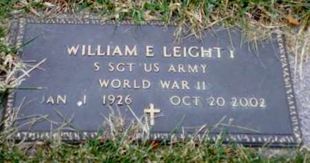 LEIGHTY, WILLIAM E. - Shelby County, Ohio | WILLIAM E. LEIGHTY - Ohio Gravestone Photos