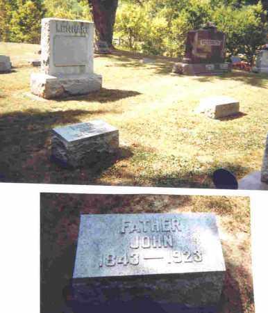LENHART, JOHN J. - Shelby County, Ohio | JOHN J. LENHART - Ohio Gravestone Photos
