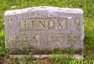 LENOX, AMANDA M. - Shelby County, Ohio | AMANDA M. LENOX - Ohio Gravestone Photos
