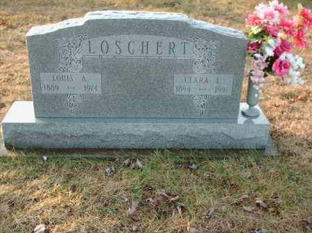 LOSCHERT, LOUIS A - Shelby County, Ohio | LOUIS A LOSCHERT - Ohio Gravestone Photos