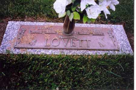 LOVETT, T.LOWELL - Shelby County, Ohio | T.LOWELL LOVETT - Ohio Gravestone Photos