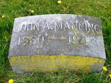 MANNING, JOHN A. - Shelby County, Ohio | JOHN A. MANNING - Ohio Gravestone Photos
