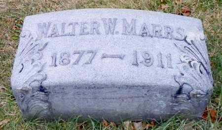 MARRS, WALTER W. - Shelby County, Ohio | WALTER W. MARRS - Ohio Gravestone Photos