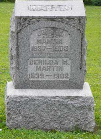 MARTIN, CERILDA M. - Shelby County, Ohio | CERILDA M. MARTIN - Ohio Gravestone Photos