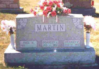 MARTIN, RICHARD P. - Shelby County, Ohio | RICHARD P. MARTIN - Ohio Gravestone Photos
