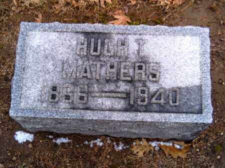 MATHERS, HUGH T. - Shelby County, Ohio | HUGH T. MATHERS - Ohio Gravestone Photos