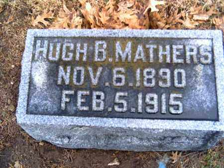 MATHERS, HUGH B. - Shelby County, Ohio | HUGH B. MATHERS - Ohio Gravestone Photos