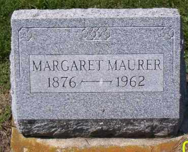MAURER, MARGARET - Shelby County, Ohio | MARGARET MAURER - Ohio Gravestone Photos