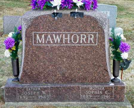 MAWHORR, SOPHIA C. - Shelby County, Ohio | SOPHIA C. MAWHORR - Ohio Gravestone Photos