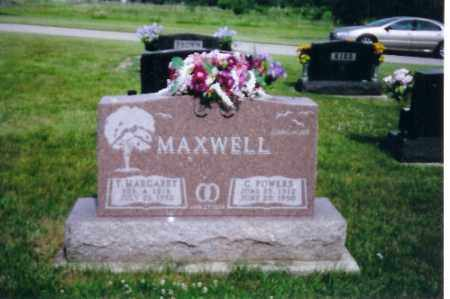 MAXWELL, C. POWERS - Shelby County, Ohio | C. POWERS MAXWELL - Ohio Gravestone Photos