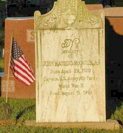 MCCASLIN, JOHN MATHERS - Shelby County, Ohio | JOHN MATHERS MCCASLIN - Ohio Gravestone Photos