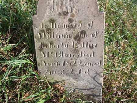 MCCLURE, WILLIAM - Shelby County, Ohio   WILLIAM MCCLURE - Ohio Gravestone Photos