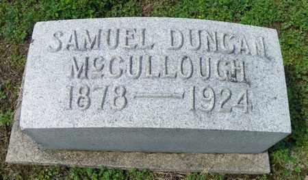 MCCULLOUGH, SAMUEL DUNCAN - Shelby County, Ohio | SAMUEL DUNCAN MCCULLOUGH - Ohio Gravestone Photos