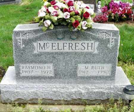 MCELFRESH, M. RUTH - Shelby County, Ohio | M. RUTH MCELFRESH - Ohio Gravestone Photos