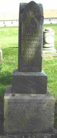 MCMANNAMY, NORENA - Shelby County, Ohio   NORENA MCMANNAMY - Ohio Gravestone Photos