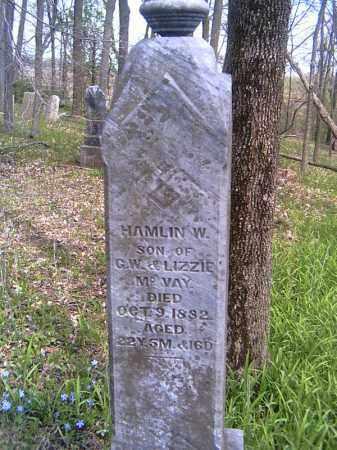 MCVAY, HAMLIN W. - Shelby County, Ohio | HAMLIN W. MCVAY - Ohio Gravestone Photos
