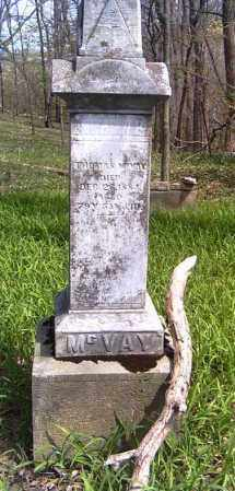 MCVAY, THOMAS - Shelby County, Ohio | THOMAS MCVAY - Ohio Gravestone Photos